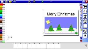 2Create a Superstory Christmascard