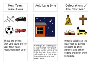 New Year using 2Publish Extra created using 2Simple online tools