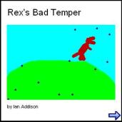 Bad Tempered Rex created with 2Create a Superstory