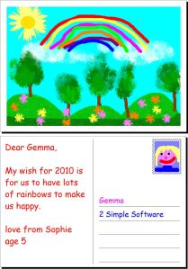 My Wish by Sophie Aged 5 made using 2Publish+