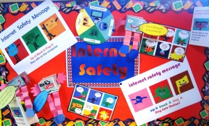 Safer Internet Day Display made with 2Simple Software
