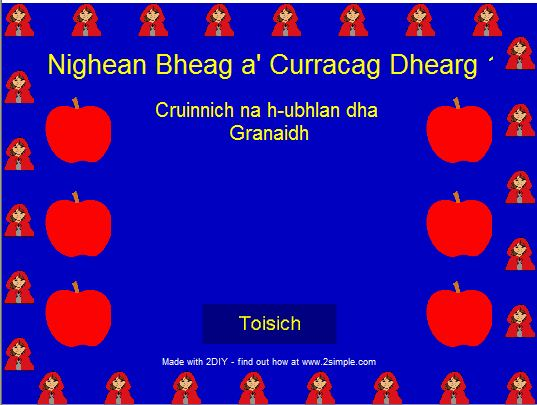 Little Red Gaelic Levels
